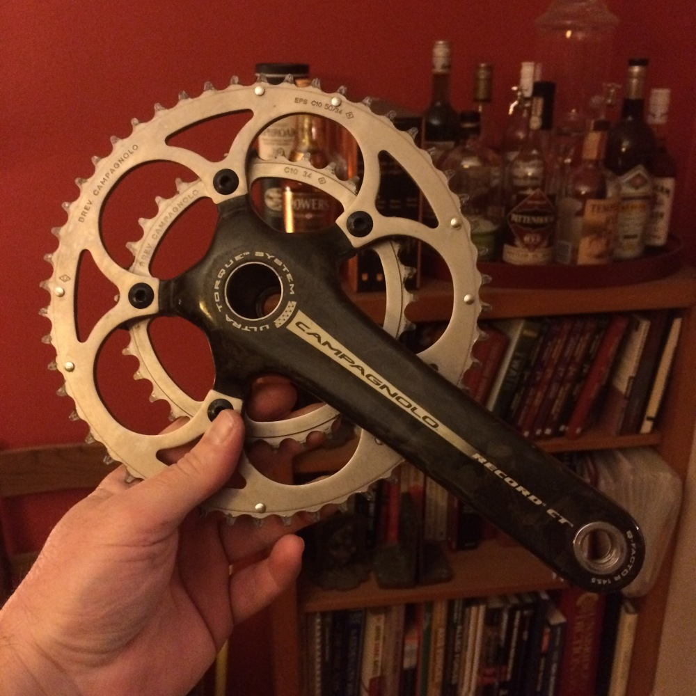 Campagnolo Record Crank cleanup (1/3)